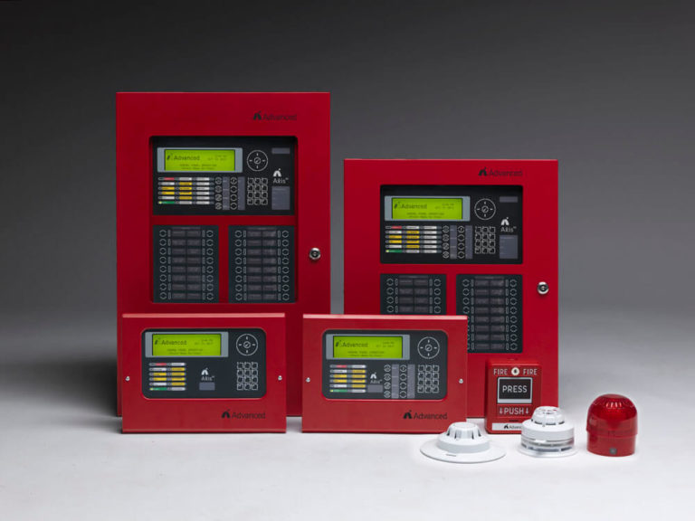 Red Axis AX Fire Panel Family with Detectors